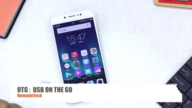 Videogram: Vivo V5s: How To Use USB OTG To Transfer Files To