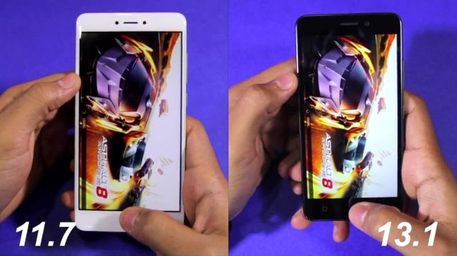Redmi Note 4 vs Lenovo K6 Power Speed test and NAND Storage Speed Comparison