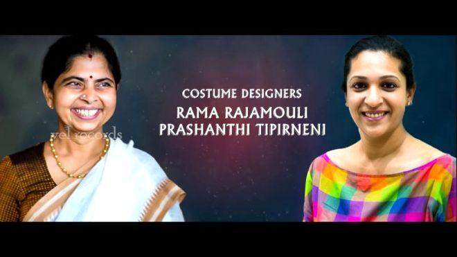 Videogram Costume Designers Rama Rajamouli Prashanthi Av Baahubali The Conclusion