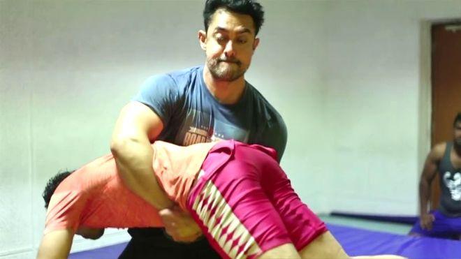 Videogram: Aamir Khan Wrestling Training - In Cinemas Now