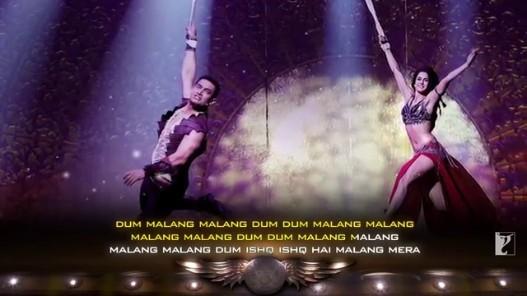Videogram Malang Song With Lyrics Dhoom 3