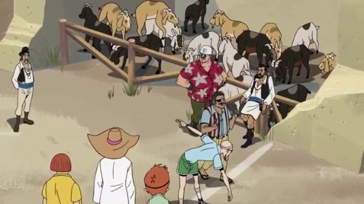 videogram the venture bros running of the goats
