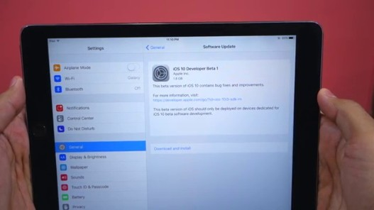 Videogram: Install iOS 10 Beta 1 without Apple Account on