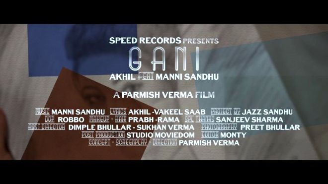 Ios: Gani (Full Video) | Akhil Feat Manni Sandhu | Latest