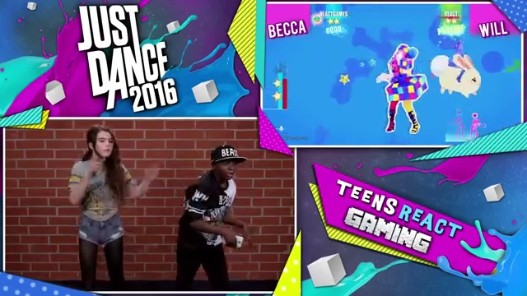 Videogram: JUST DANCE 2016 (Teens React: Gaming)