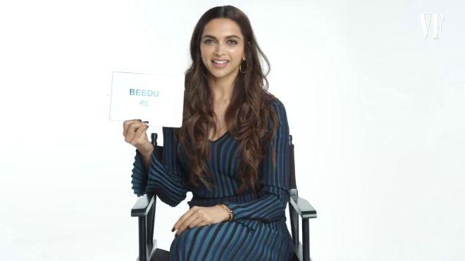 Videogram: Deepika Padukone Teaches You Hindi Slang | Vanity Fair