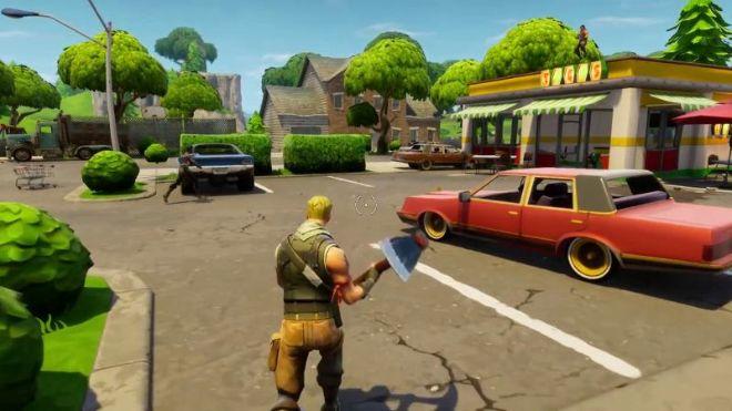 Videogram Fortnite Battle Royale Gameplay Trailer Play