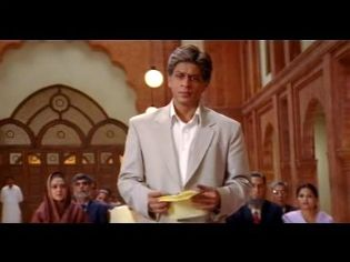 Videogram Veer Zaara Scene End Speech By Shahrukh Khan