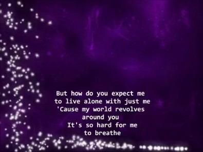Videogram: Jordin Sparks Feat  Chris Brown - No Air Lyrics HQ
