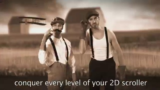 Videogram: Mario Bros vs Wright Bros  Epic Rap Battles of