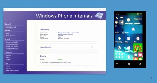 Windows Phone Internals - Create a Custom ROM with Root Access